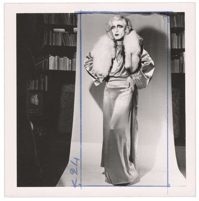 Michel Journiac, 'Piège pour un travesti / Tirage préparatoire - Jean Harlow', 1972
