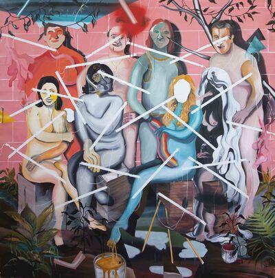Yann Leto, 'Nudes Everywhere', 2014