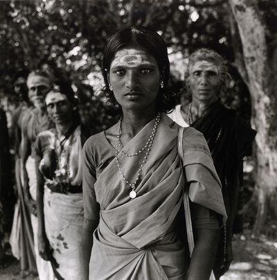 Rosalind Solomon, 'Pilgrims, Madurai, India ', 1981