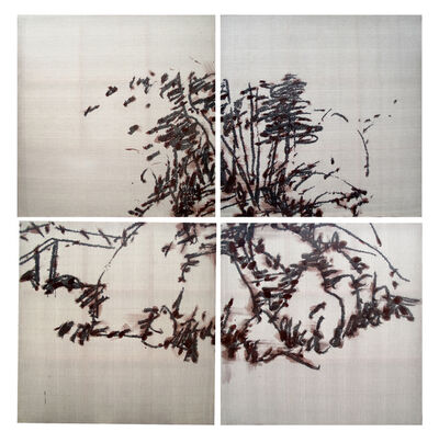 Ye Yongqing 叶永青, 'Barren- landscape No.2', 2013