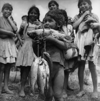 Rodrigo Moya, 'Regalos del agua, Michoacán, México', 1971