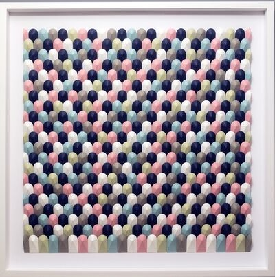 Yossi Ben Abu, 'Winter fields - kinetic geometric abstract ', 2020