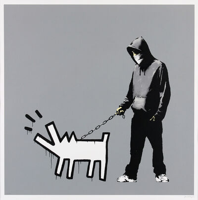 Banksy, 'Choose Your Weapon (Grey)', 2010