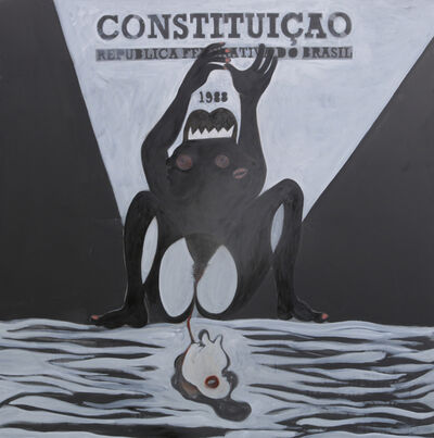 Josafa Neves, 'Preto no branco', 2019