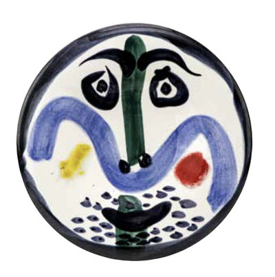 Pablo Picasso, 'Visage no.130', 1963