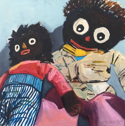 Beverly McIver, 'Still Here (Two Dolls)', 2016