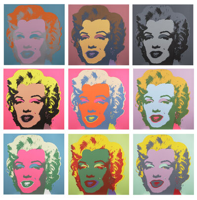 After Andy Warhol, 'Marilyn Monroe'