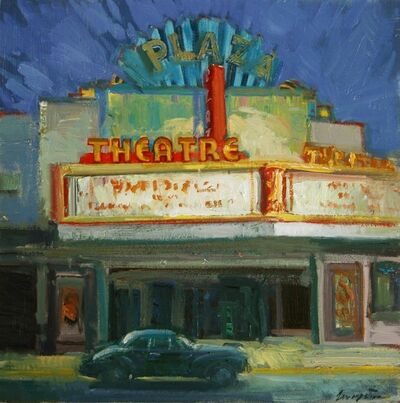 "Francis Livingston, '""Plaza Nocturne""', 2014"