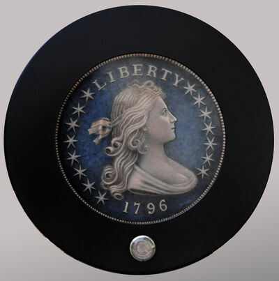 Peter Quidley, '1796 Draped Bust Dollar', 2014