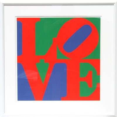 Robert Indiana, 'LOVE', ca. 1996