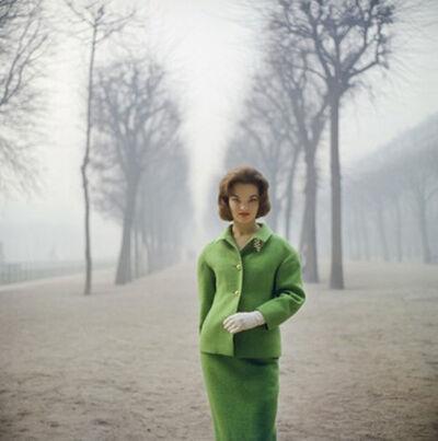 Mark Shaw, 'Henrietta Tiarks Among the Trees, Paris', 1959
