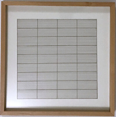 Agnes Martin, 'Untitled, from Stedelijk Museum ', 1991