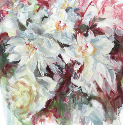 Jamie Evrard, 'Peonies Noted Briefly', 2019