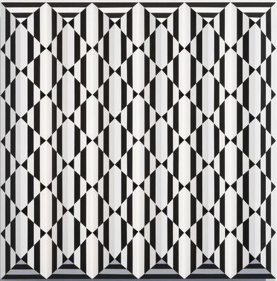 Roland Helmer, 'V75 - Weiss, weiss, schwarz', 2020