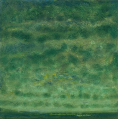Jane Wilson (1924-2015), 'Green Twilight', 2001