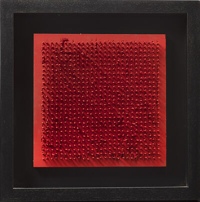 Bernard Aubertin, 'Tableau Clous', 1971