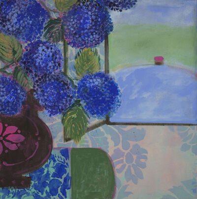 Denise Regan, 'Favorite Blue Flowers', 2014