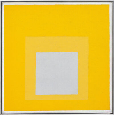 Josef Albers, 'Study for Homage to the Square: Decided', 1957