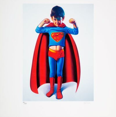 Ron English, 'Batman and the Boy Blunder II and Super Boy (two works)', 2007