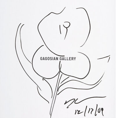 Jeff Koons, 'Original Flower Drawing', 2009