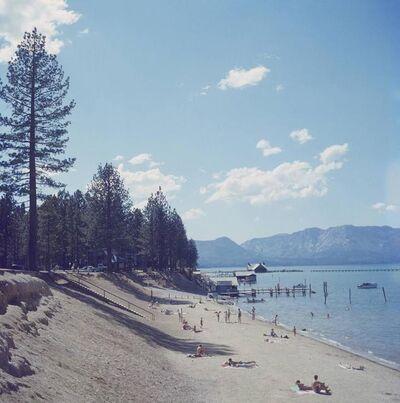 Slim Aarons, 'El Dorado Beach, Lake Tahoe', 1959
