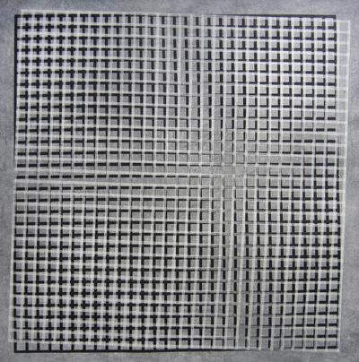 Christopher Iseri, 'Grid on Grid I', 2015