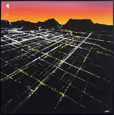 Pete Kasprzak, 'Alvarado Sunset Aerial', 2019