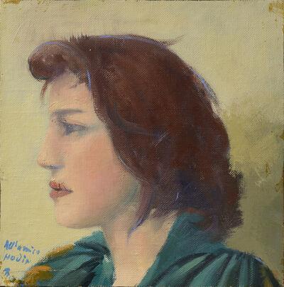 Giacomo Manzù, 'Inge', 1974