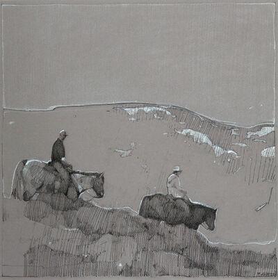 Robert Pollien, 'Two Riders', 2018