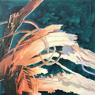 Su Yu-Xin 苏予昕, 'Fallen tree into three #2 《一棵树倾倒的三个阶段 #2》', 2017