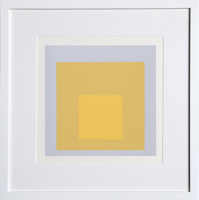 Josef Albers, 'Homage to the Square, Portfolio 2, Folder 4, Image 1', 1972