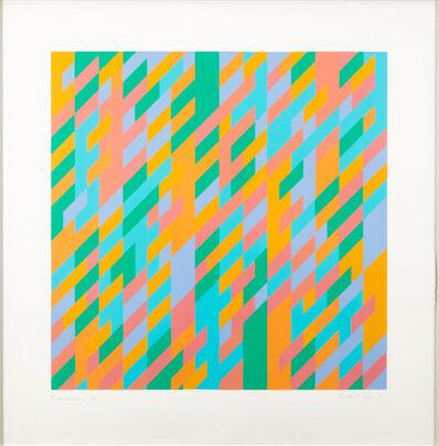 Bridget Riley, 'To Midsummer', 1989