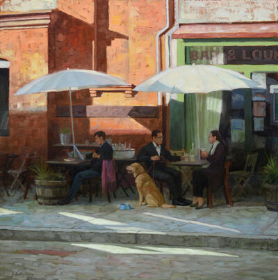 Paul Schulenburg, 'Cafe Tables'