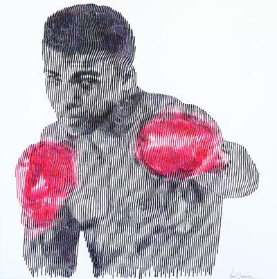 Virginie Schroeder, 'Muhammad Ali and The Pop Gloves', 2019