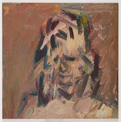 Frank Auerbach, 'Head of Catherine Lampert', 2017