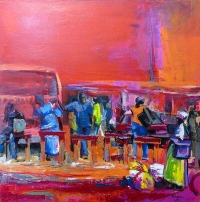 Rostand Pokam, 'Mémoire du temps', 2016