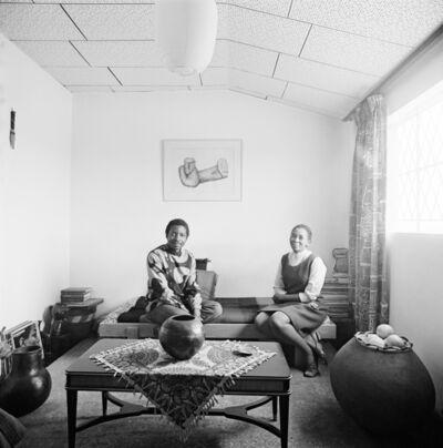 David Goldblatt, 'Makana Tshabalala and Ntsiki Kabane, Rockville, Dube, Soweto', 1970