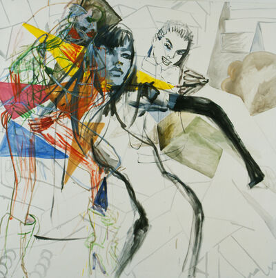 Merlin Carpenter, 'Girl Broken', 2001