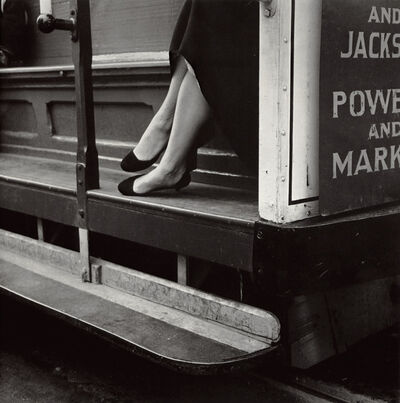 Dorothea Lange, 'Cable Car, San Francisco', 1956
