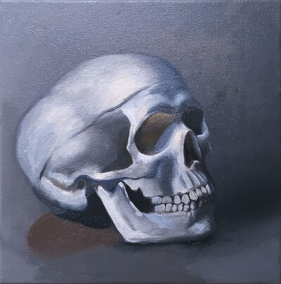 Thomas John Carlson, 'Still Life (skull right)', 2020