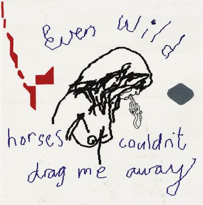 Wayne Barker, 'Wild Horses'