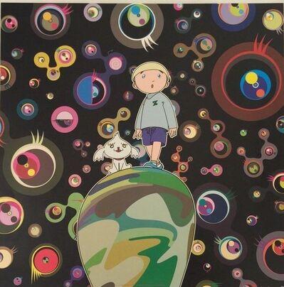 Takashi Murakami, 'Jellyfish Eyes - Black', 2015