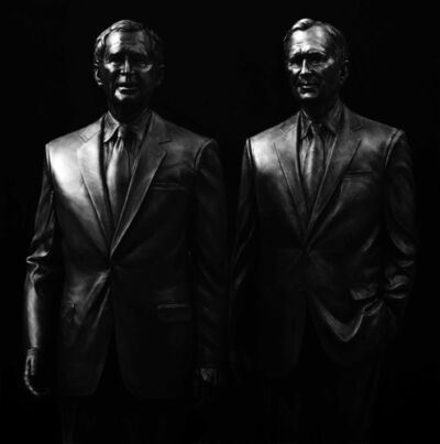 Kepa Garraza, 'George W. Bush and George H. W. Bush', 2016