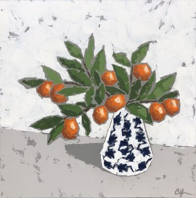 Christie Younger, 'Oranges in Chinoiserie', 2019