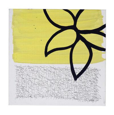 Anastasia Faiella, 'Dark Flower on Yellow', 2016