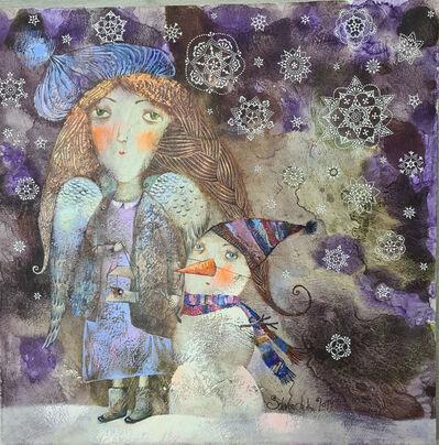 Anna Silivonchik, 'Angel and Snowman ', 2020