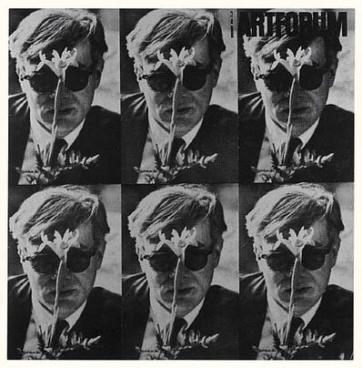 Dennis Hopper, '1964 Art Forum-Andy Warhol (Black and White Version)'