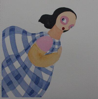 Kirsa Andreason, 'Blue Ocre Rose_13', 2020