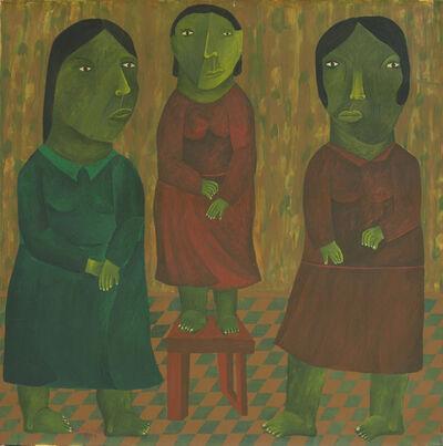 Salah Elmur, 'Three Sisters', 2017