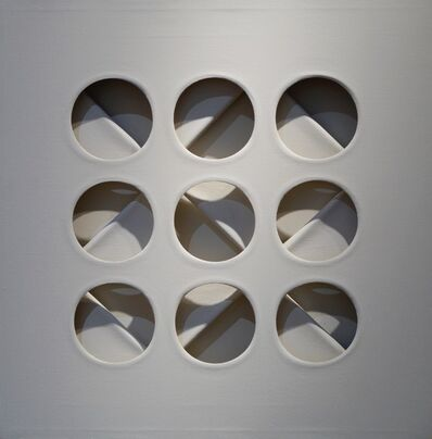 Paolo Scheggi, 'Intersuperficie curva- dal bianco', 1967